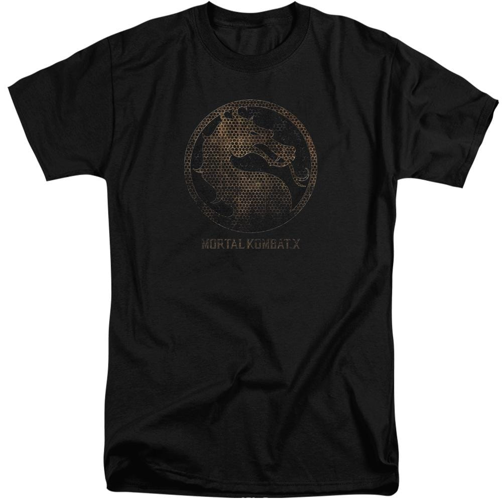 Mortal Kombat X Metal Seal Adult Tri-Blend T-Shirt