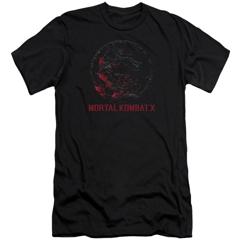 Mortal Kombat X Bloody Seal Premium Adult Slim Fit T-Shirt