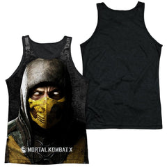 Mortal Kombat X - Finish Him Adult Tank Top