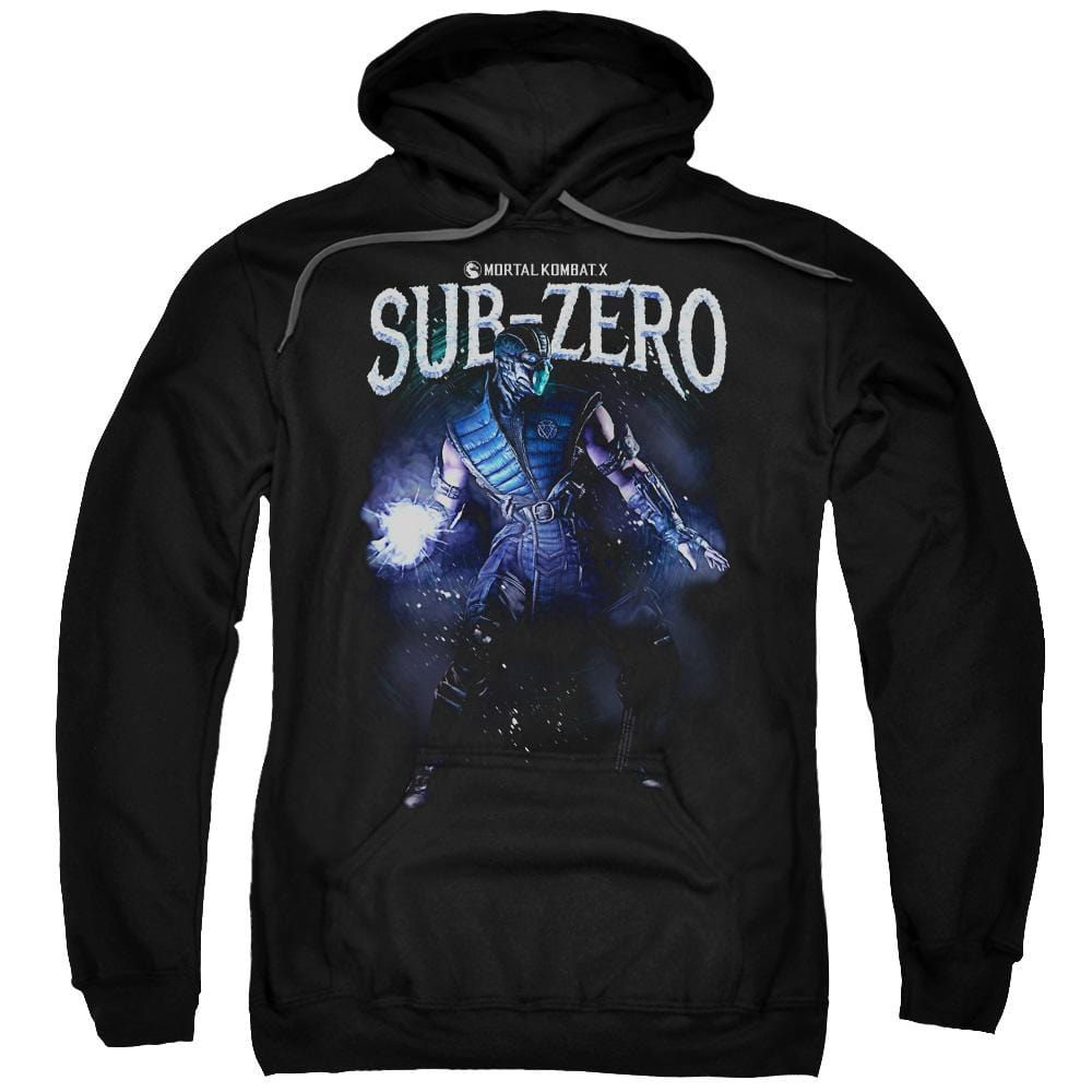 Mortal Kombat Sub-zero Adult Pull-Over Hoodie