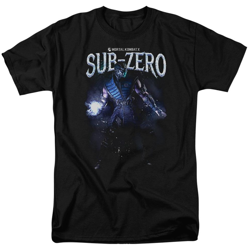 Mortal Kombat Sub-zero Adult Regular Fit T-Shirt