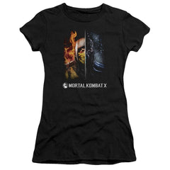 Mortal Kombat Fire And Ice Junior T-Shirt