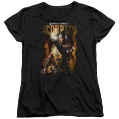 Mortal Kombat Scorpion Women's T-Shirt