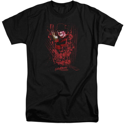 A Nightmare on Elm Street One Two Freddys Coming For You Men's Tall Fit T-Shirt