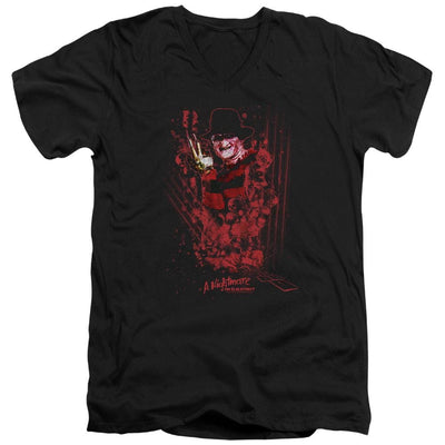 A Nightmare on Elm Street One Two Freddys Coming For You Men's V-Neck T-Shirt
