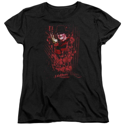 A Nightmare on Elm Street One Two Freddys Coming For You Women's T-Shirt