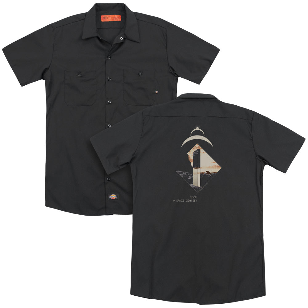 2001 A Space Odyssey Monolith Adult Work Shirt