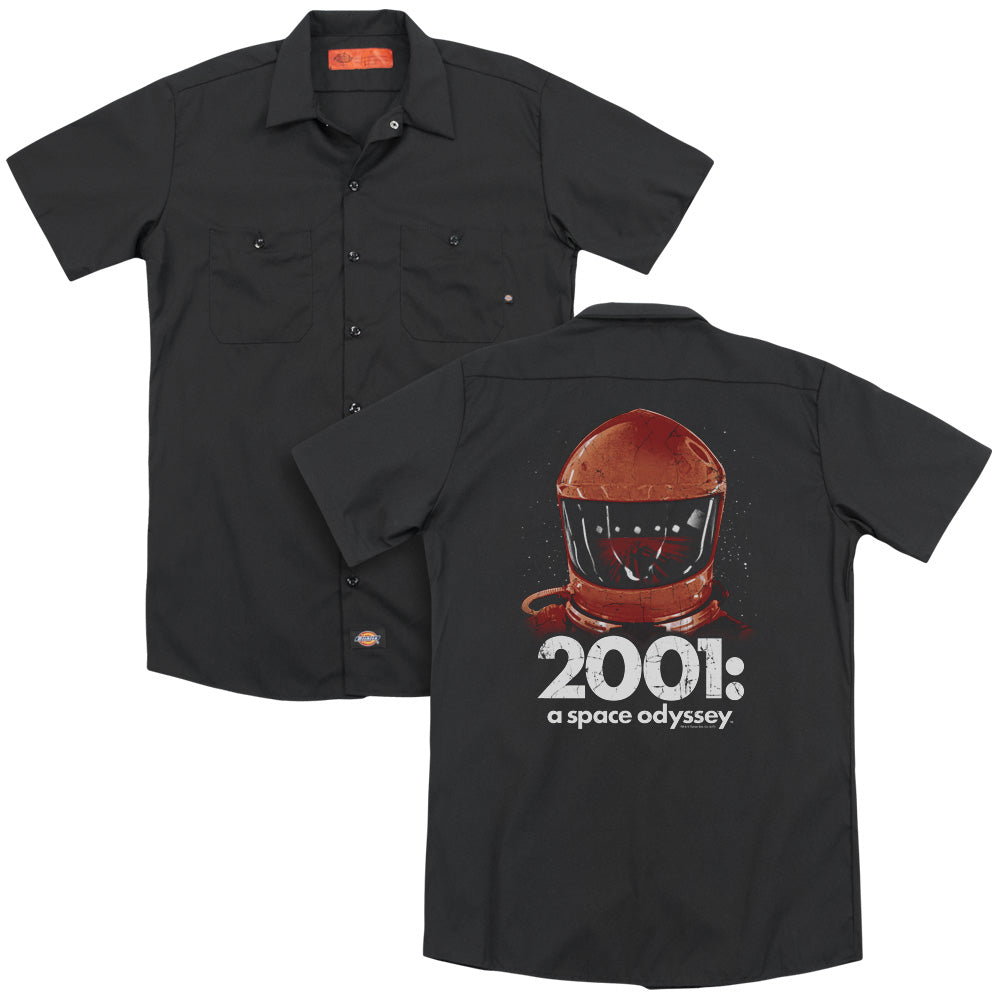 2001 A Space Odyssey Space Travel Adult Work Shirt
