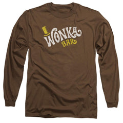 Willy Wonka And The Chocolate Factory Wonka Logo Adult Long Sleeve T-Shirt