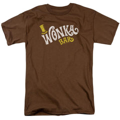 Willy Wonka And The Chocolate Factory Wonka Logo Adult Regular Fit T-Shirt