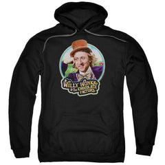 Willy Wonka And The Chocolate Factory Its Scrumdiddlyumptious Adult Pull-Over Hoodie