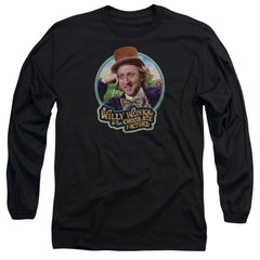 Willy Wonka And The Chocolate Factory Its Scrumdiddlyumptious Adult Long Sleeve T-Shirt