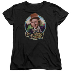 Willy Wonka And The Chocolate Factory Its Scrumdiddlyumptious Women's T-Shirt