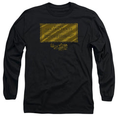 Willy Wonka And The Chocolate Factory Golden Ticket Adult Long Sleeve T-Shirt