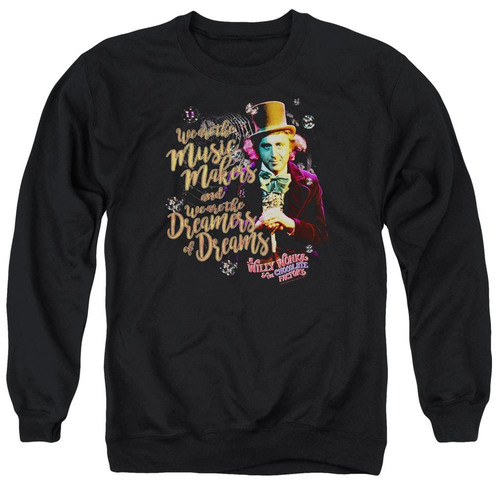 Willy Wonka And The Chocolate Factory Music Makers Adult Crewneck Sweatshirt