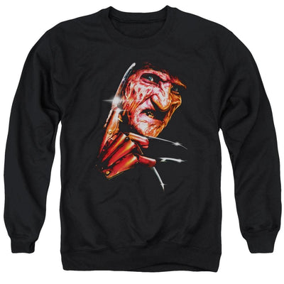 A Nightmare on Elm Street Freddys Face Men's Crewneck Sweatshirt