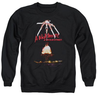 A Nightmare on Elm Street Alternate Poster Men's Crewneck Sweatshirt