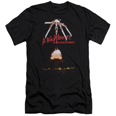 A Nightmare on Elm Street Alternate Poster Men's Slim Fit T-Shirt