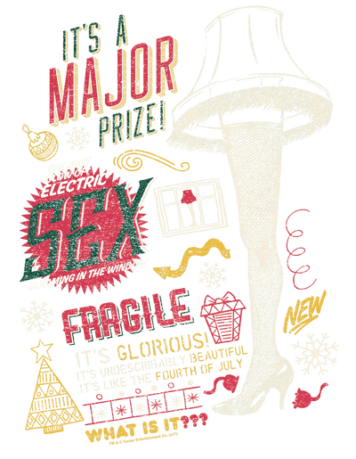 A Christmas Story Its A Major Prize Men's Long Sleeve T-Shirt