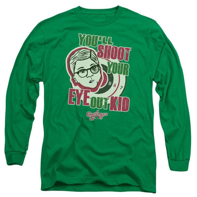 A Christmas Story Youll Shoot Your Eye Out Men's Long Sleeve T-Shirt