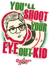 A Christmas Story Youll Shoot Your Eye Out Men's Heather T-Shirt