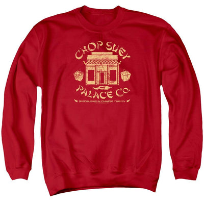 A Christmas Story Chop Suey Palace Co Men's Crewneck Sweatshirt
