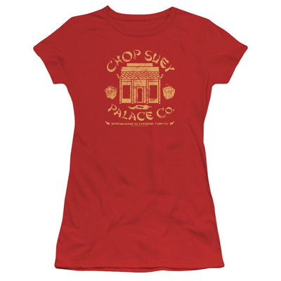 A Christmas Story Chop Suey Palace Co Juniors T-Shirt