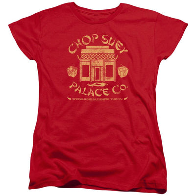 A Christmas Story Chop Suey Palace Co Women's T-Shirt