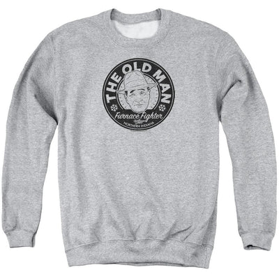 A Christmas Story The Old Man Men's Crewneck Sweatshirt