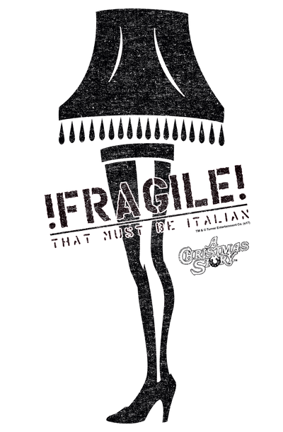 A Christmas Story Fragile Juniors T-Shirt