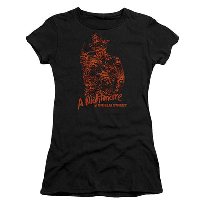 A Nightmare on Elm Street Chest Of Souls Juniors T-Shirt