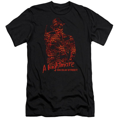 A Nightmare on Elm Street Chest Of Souls Men's Premium Slim Fit T-Shirt