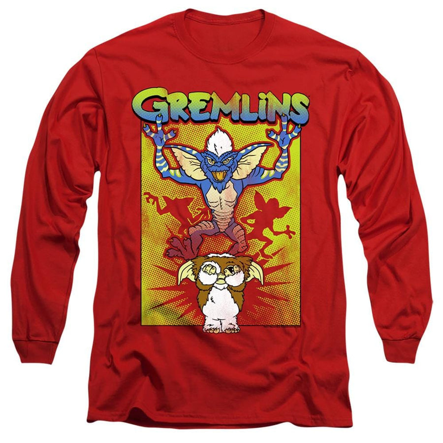 Gremlins Be Afraid Unisex Adult Long-Sleeve T Shirt