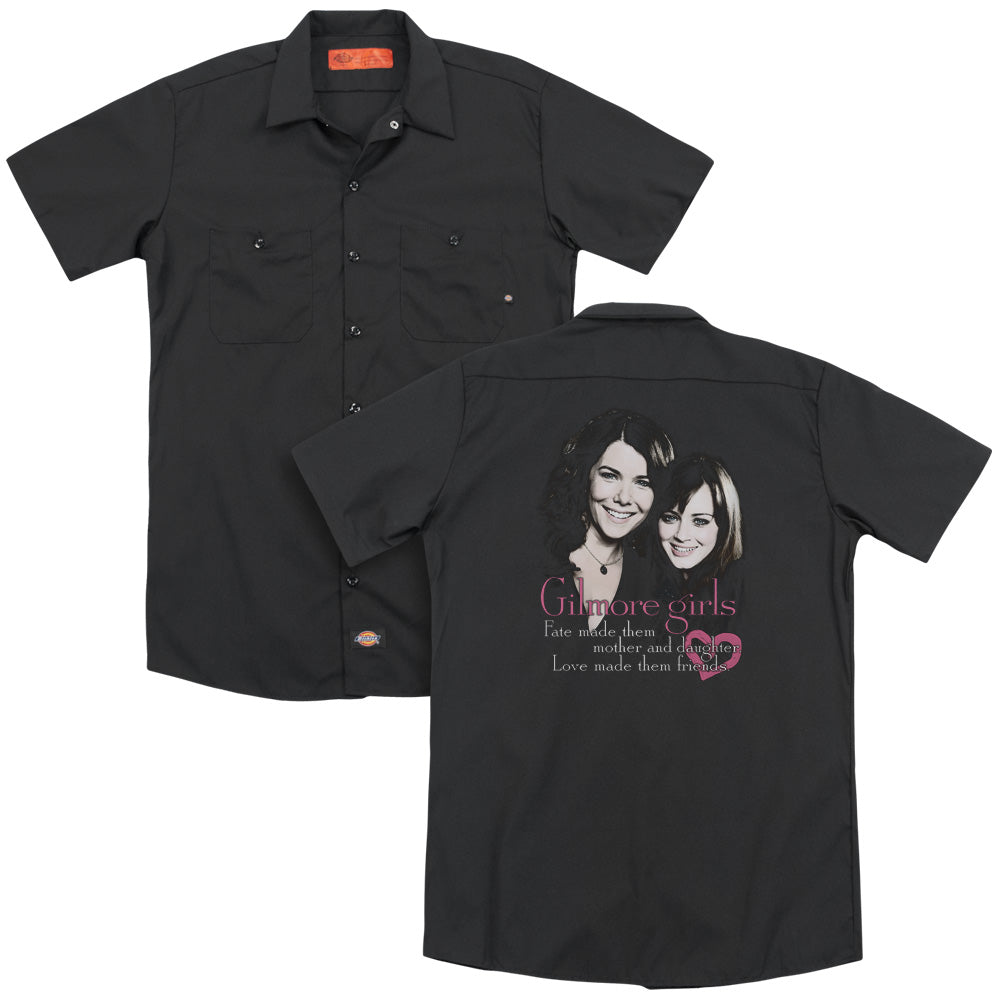 Gilmore Girls Title Adult Work Shirt