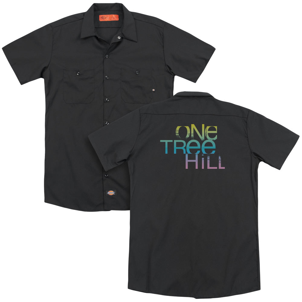 One Tree Hill Color Blend Logo Adult Work Shirt