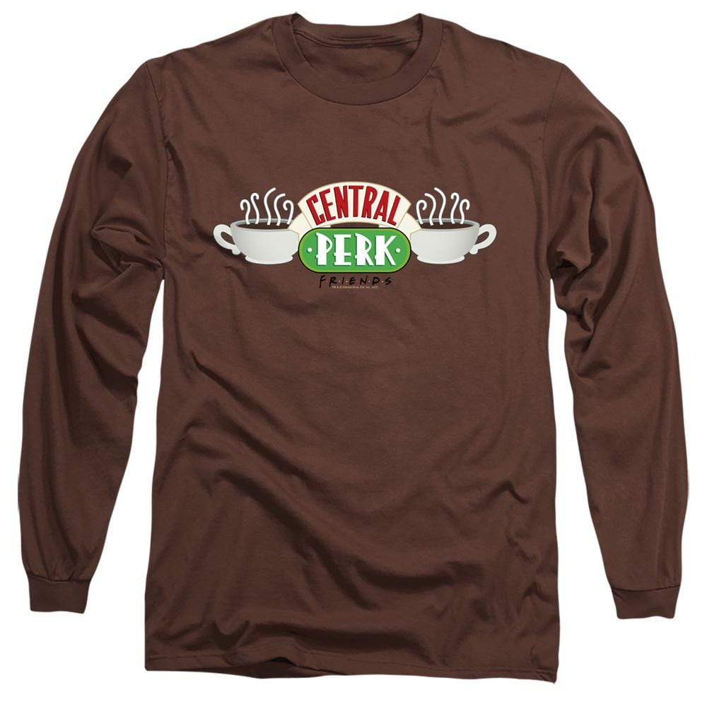 Friends - Central Perk Logo Adult Long Sleeve T-Shirt