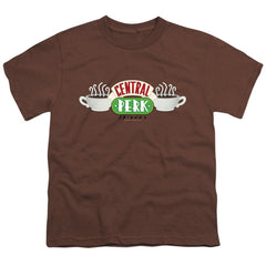 Friends - Central Perk Logo Youth T-Shirt (Ages 8-12)