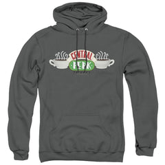 Friends Central Perk Logo Adult Pull-Over Hoodie