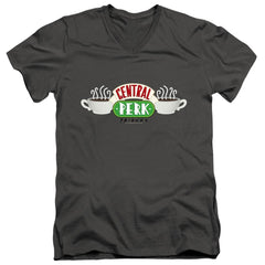 Friends Central Perk Logo Adult V Neck T-Shirt