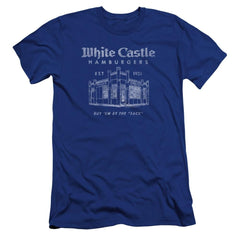 White Castle By The Sack Premium Adult Slim Fit T-Shirt