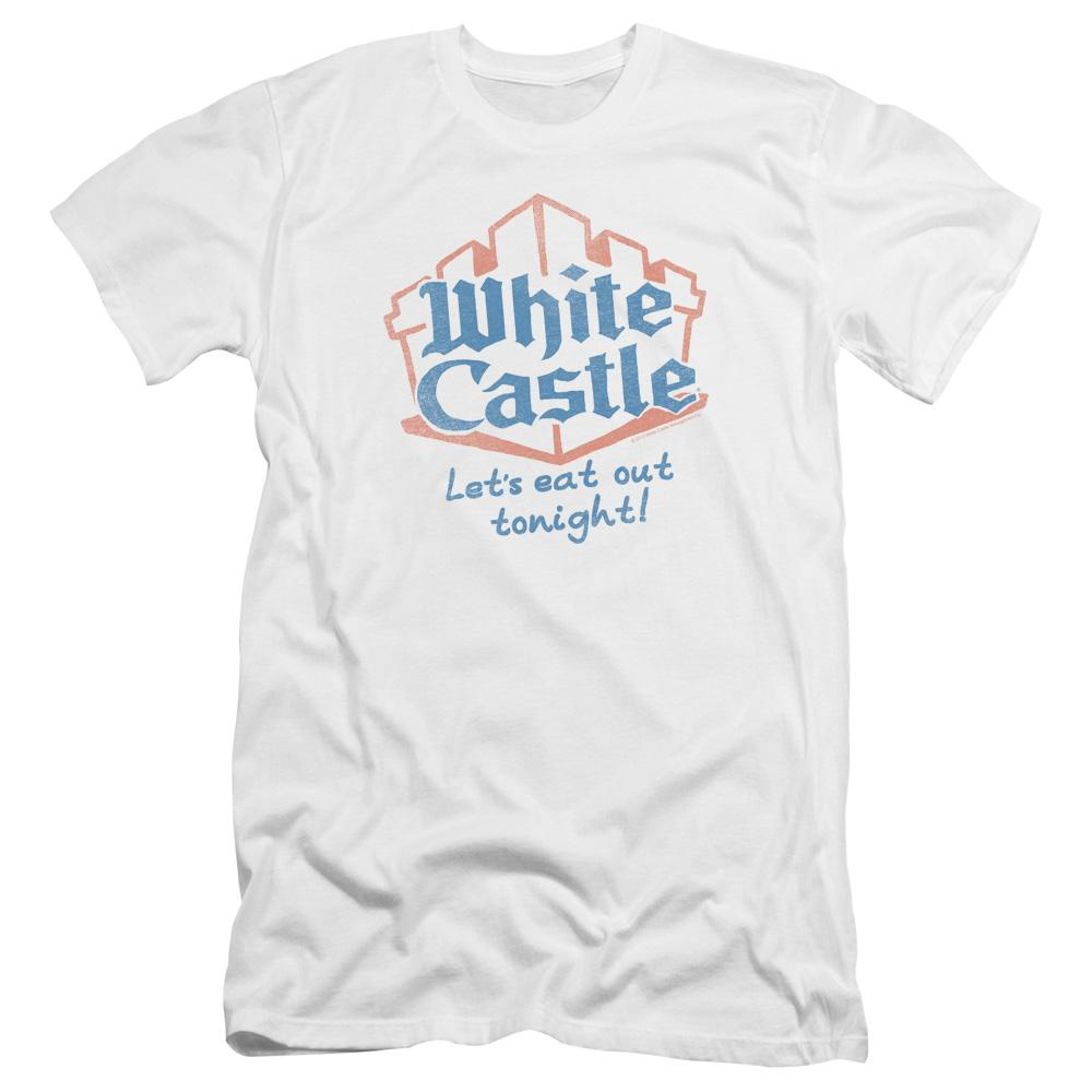 White Castle Lets Eat Premium Adult Slim Fit T-Shirt