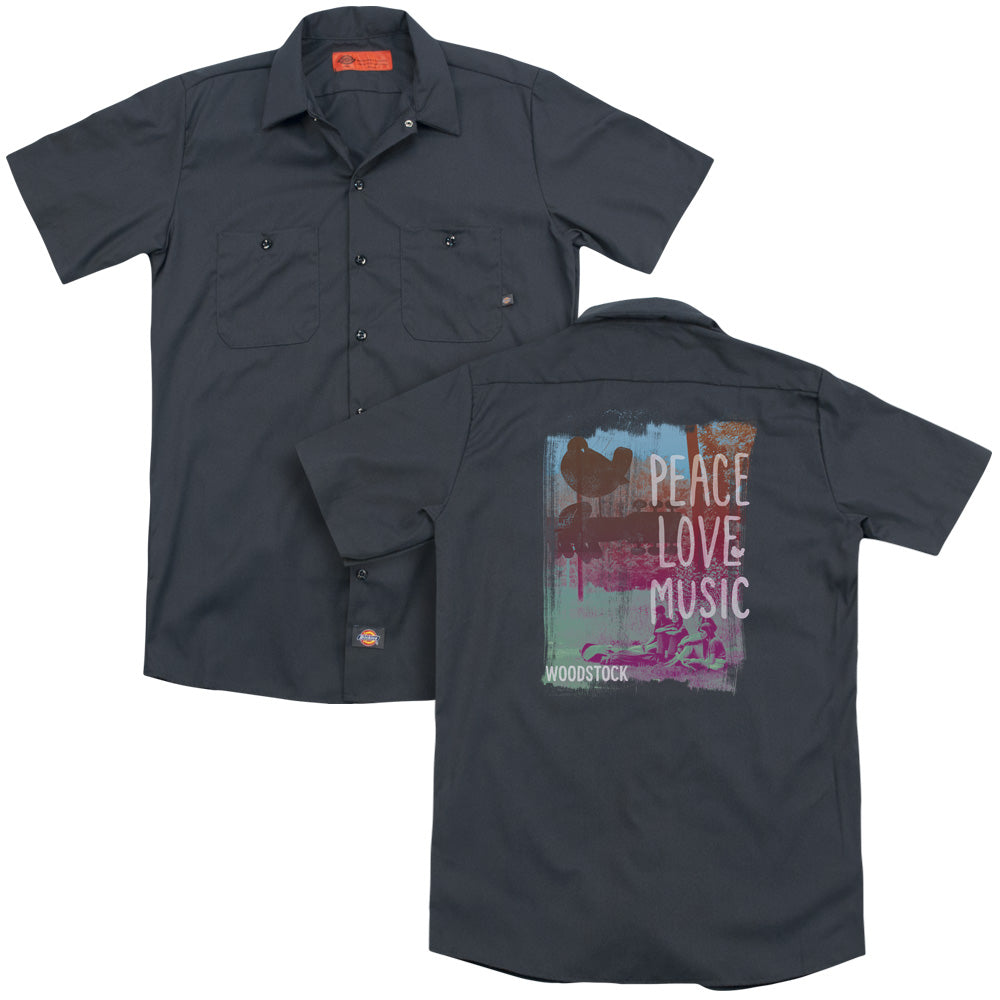 Woodstock Plm Adult Work Shirt