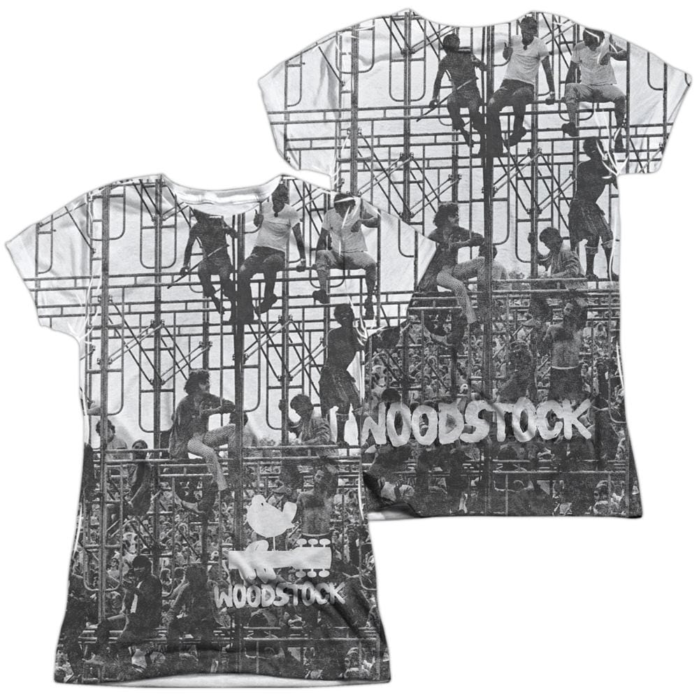 Woodstock Stage Junior All Over Print 100% Poly T-Shirt