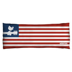 Woodstock - Flag Body Pillow