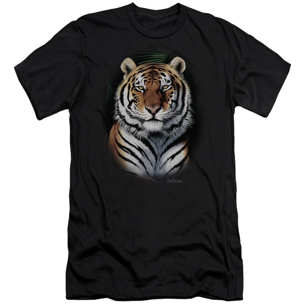 Wildlife Jungle Fire Premium Adult Slim Fit T-Shirt