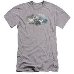 Wildlife High Trails Dall Sheep Premium Adult Slim Fit T-Shirt