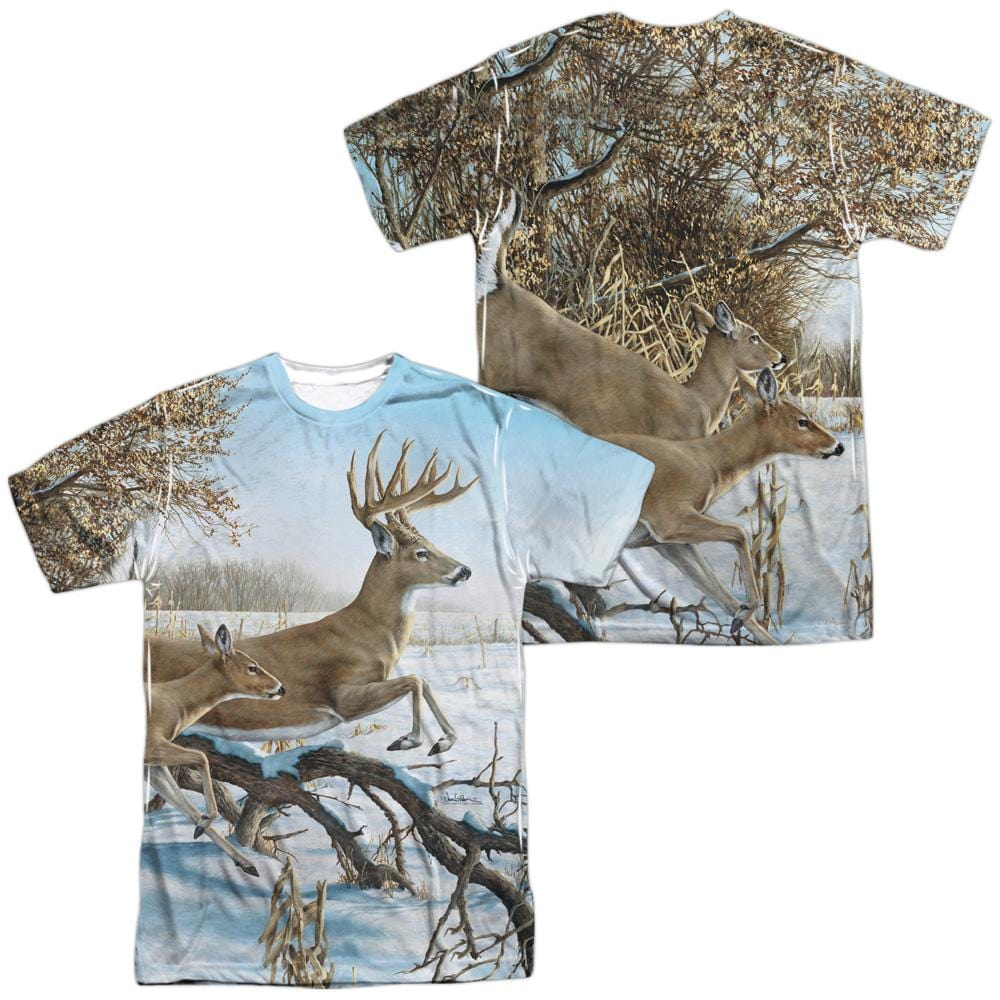 Wild Wings Breaking Cover Adult All Over Print 100% Poly T-Shirt