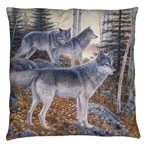 Wild Wings - Silent Travelers 2 Throw Pillow