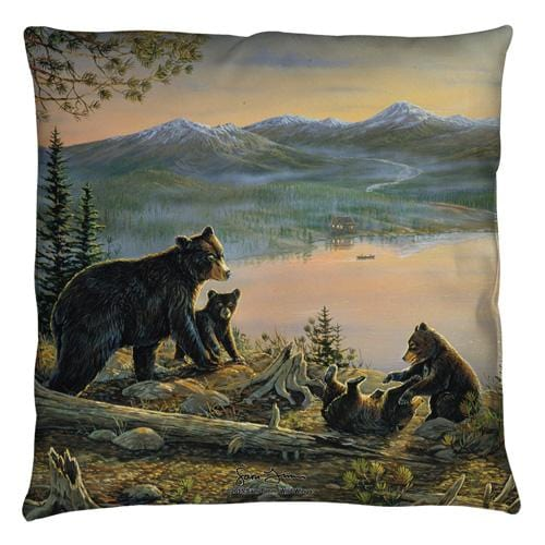 Wild Wings - Serenity At Twilight 2 Throw Pillow