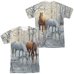 Wild Wings - Frosty Sunshine Adult All Over Print 100% Poly T-Shirt